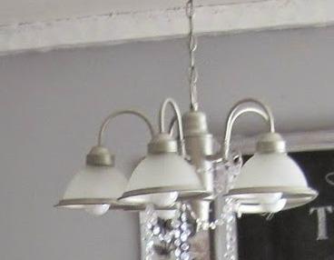 Diy chandelier makeover old chandelier aloadofball Image collections