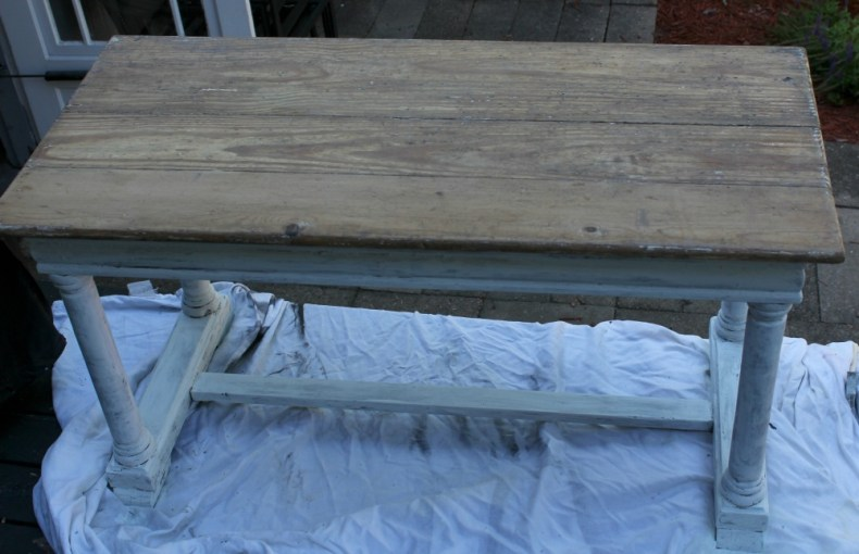 Painting Piano Bench