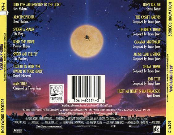 Arachnophobia Soundtrack 1990  CD Sniper Reference