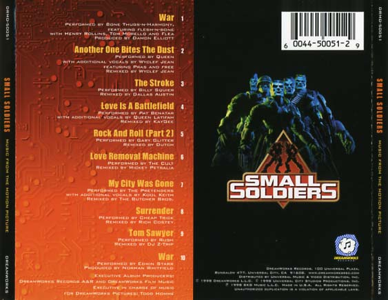 Small Soldiers Soundtrack 1998  CD Sniper Reference