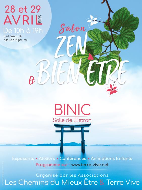 Salon Zen  Bien Etre Binictablessurmer  28042018  29042018 Foire ou salon