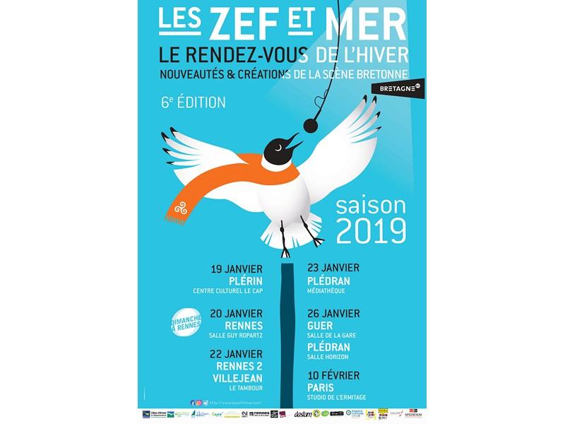 festival les zef et mer animations jeune public extraits de nouveaux spectacles et concert de nolwenn korbell office de tourisme de broceliande