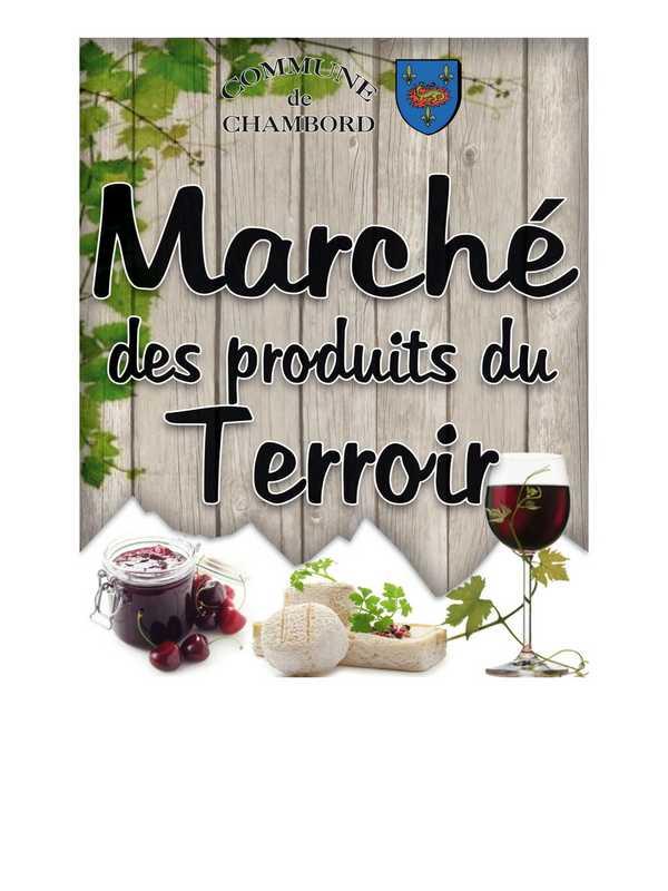 March Du Terroir Chambord Sologne Tourisme Val De