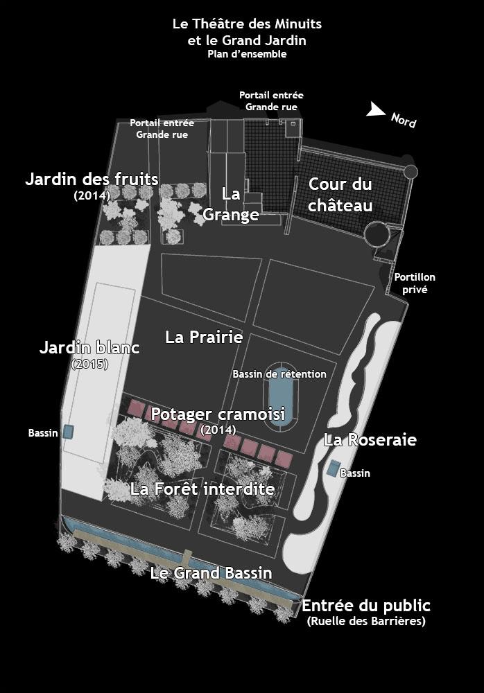 Le Grand Jardin du Thtre des Minuits LA NEUVILLESURESSONNE  Tourisme Loiret