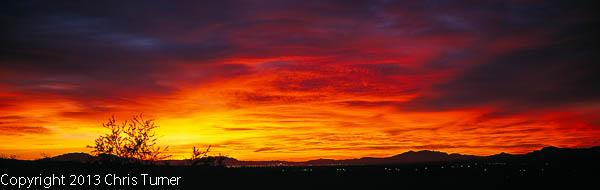 tule springs sunrise