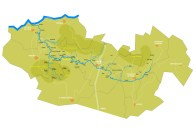 Mapa - Rio Paiva