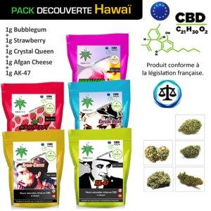 Pack Découverte CBD Hawai