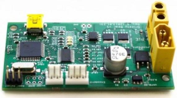 Grizzly Bear Motor Controller from Pioneers in Engineering