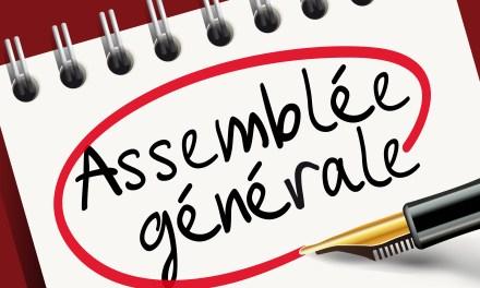 Invitation à l'assemblée Générale 2019