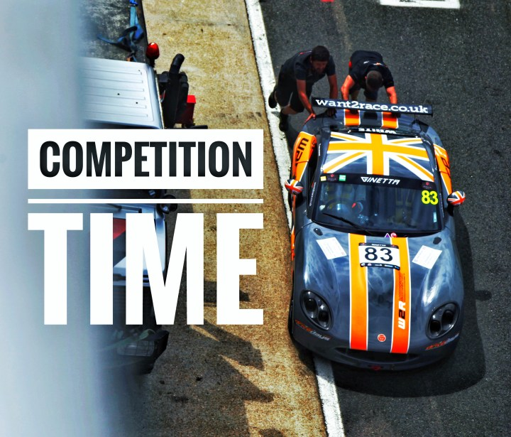 CDW Motorsport Ginetta G40 racing competition