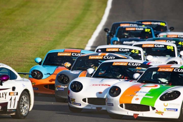 race hospitality with CDW Motorsport at Donington Park British GT. Ginetta G40 in the pack