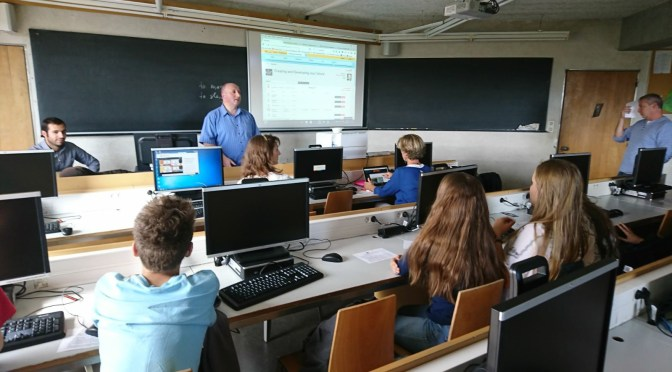 French students learn about WordPress and eTwinning