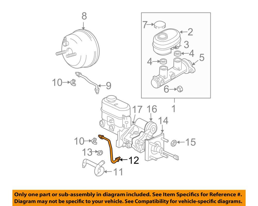 medium resolution of mopar 52010336ab genuine oem ram 1500 2500 hydro boost gear port brake tube item description genuine oem chrysler mopar parts