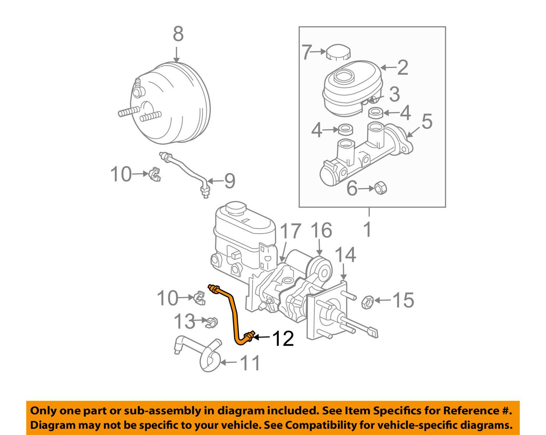 hight resolution of mopar 52010336ab genuine oem ram 1500 2500 hydro boost gear port brake tube item description genuine oem chrysler mopar parts