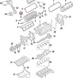 ford 3c3z 6500 aa genuine oem excursion f250 f350 super duty 6 0l valve lifter [ 837 x 1058 Pixel ]