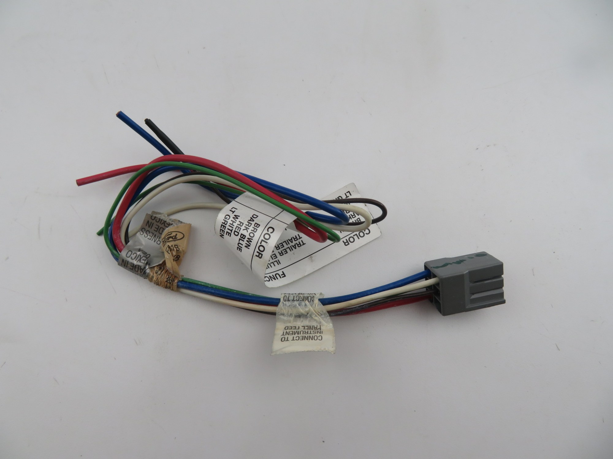 hight resolution of ford 2c7z 15a416 aa genuine oem excursion trailer tow hitch wiring harness kit