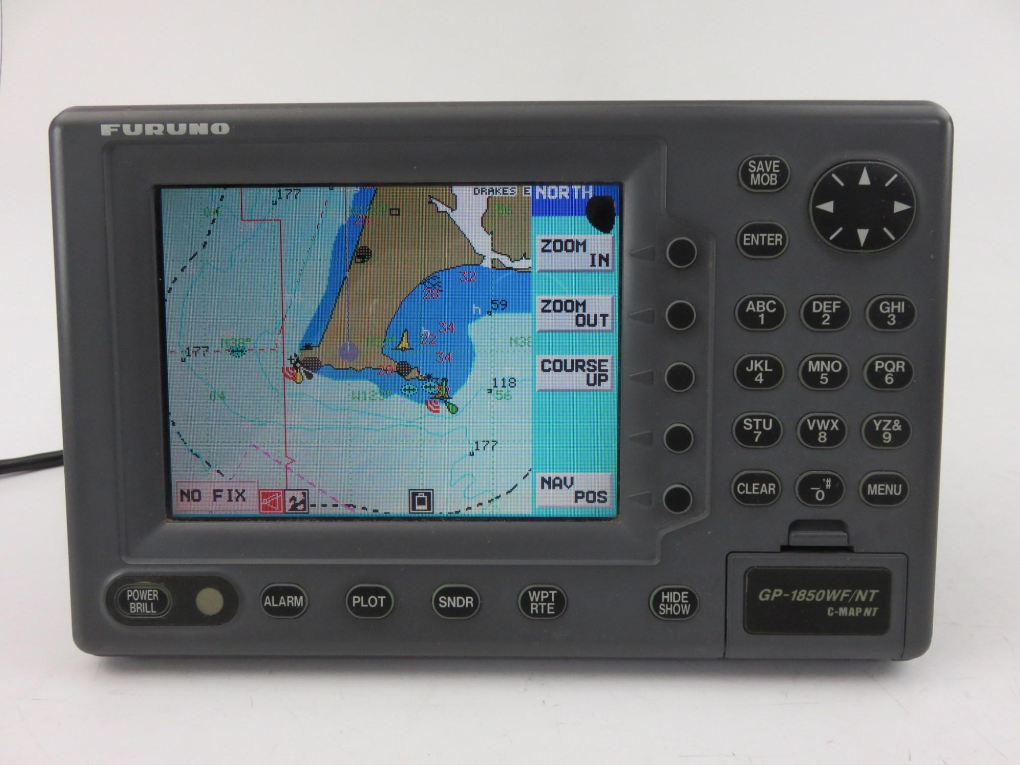 hight resolution of details about furuno gp 1850wf 7 ldc gps waas fishfinder chartplotter mfd display