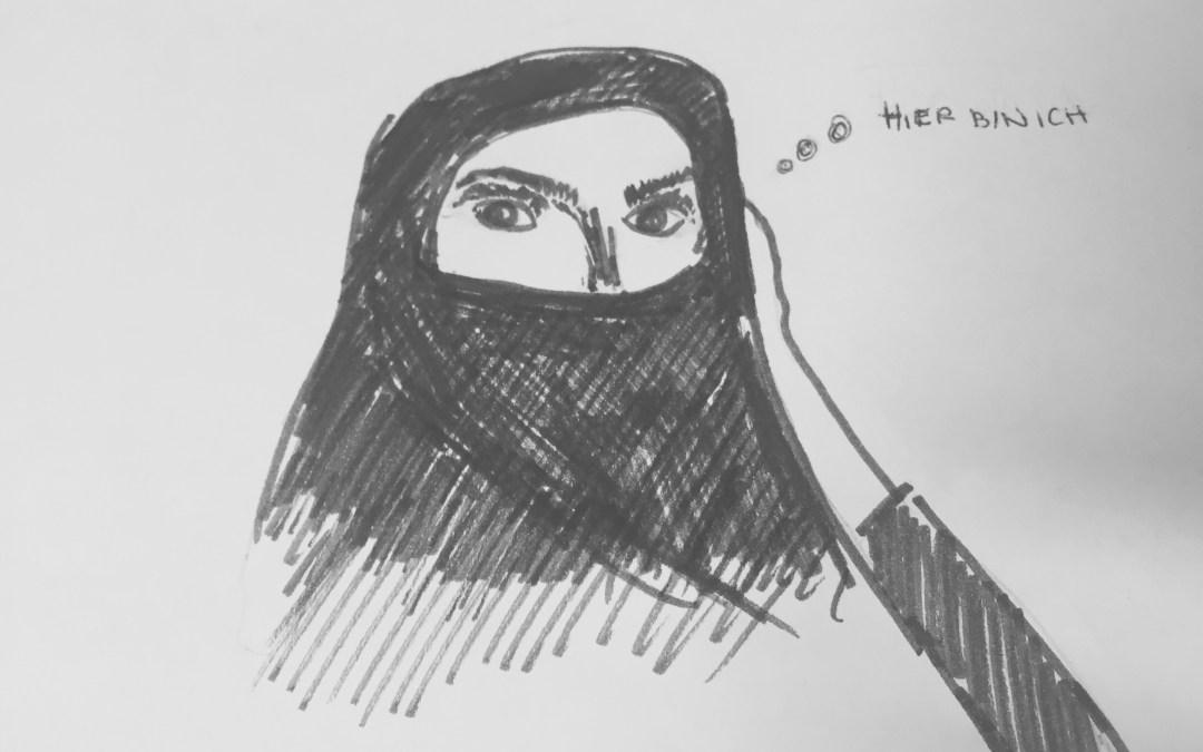 Wie erlangt die unsichtbare Frau Aufmerksamkeit?