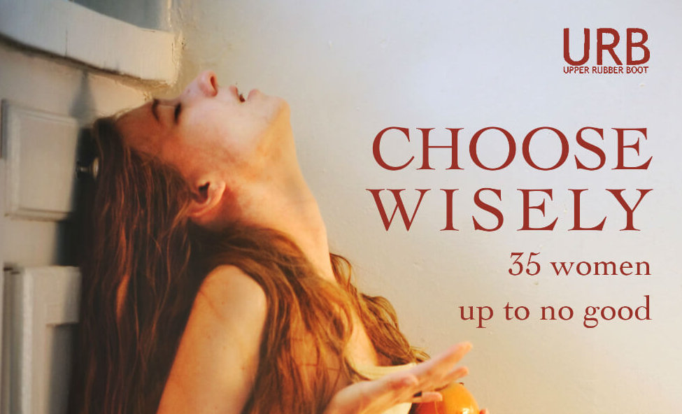 "book cover for ""Choose Wisely: 35 women up to no good"""