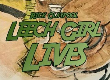 book cover for Leech Girl Lives