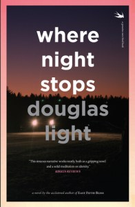 "book cover of ""Where Nigh Stops"" by Douglas Light"