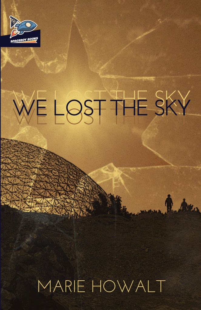 book cover image for We Lost the Sky