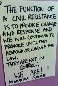Civil Resistance - Mahatma Ghandi