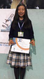 Tercer lugar en Olimpiada de las Ciencias 2017