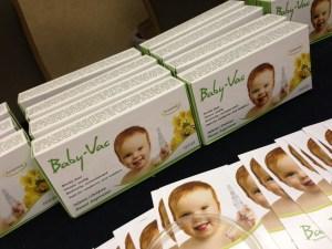 Baby Vac Nasal Aspirator NY Baby Show 2014