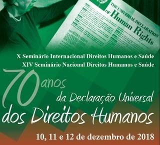Seminário internacional celebra os 70 anos da Declaração Universal dos Direitos Humanos