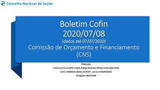 Boletim Cofin 2020/07/08