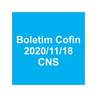 Boletim Cofin 2020/11/18
