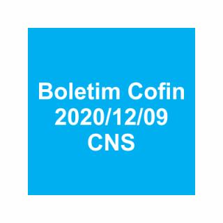 Boletim Cofin 2020/12/09