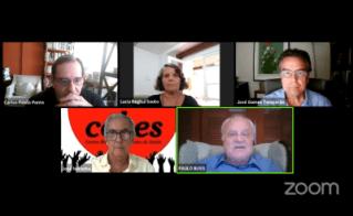 Temporão e Paulo Buss debatem a vacinação contra a covid-19 no Cebes Debates
