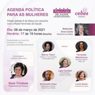 Cebes Debate 'Agenda Política para As Mulheres'