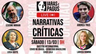 Iaras e Pagus: Lúcia Souto debate sobre o enfrentamento da Covid-19 no Brasil