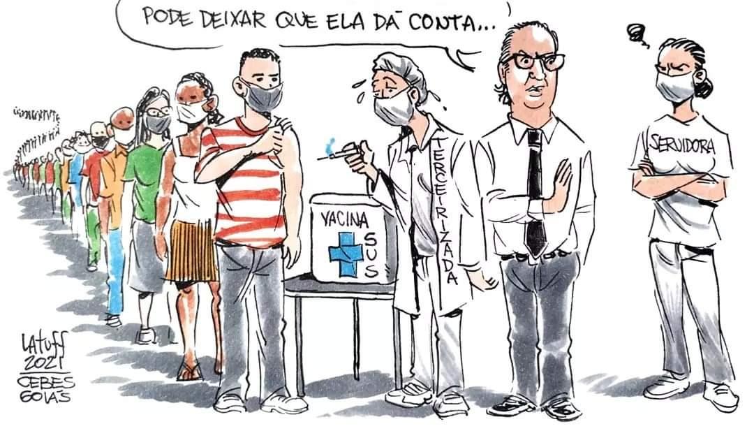 Núcleo Goiânia promove debate sobre terceirização da vacina na capital de Goiás