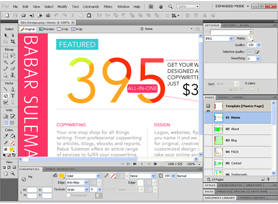 11 Reasons To Use Adobe Fireworks Design Software