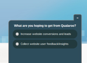 qualaroo survey