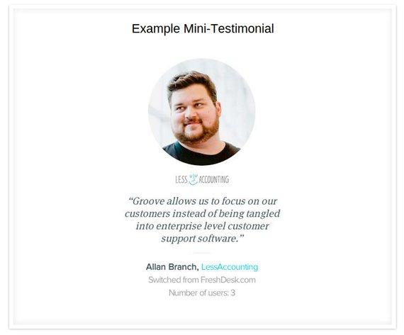 Groovehq testimonial