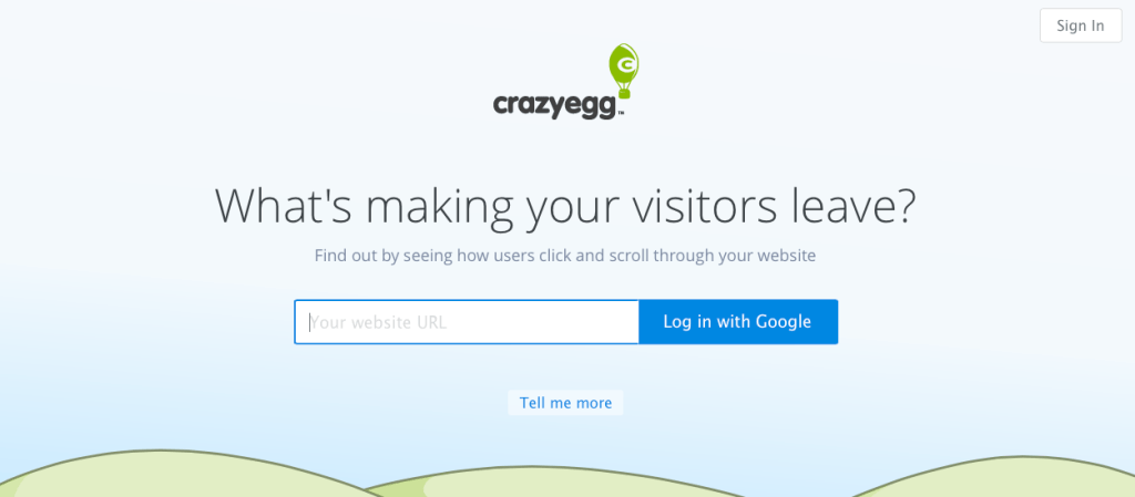 CE Landing page