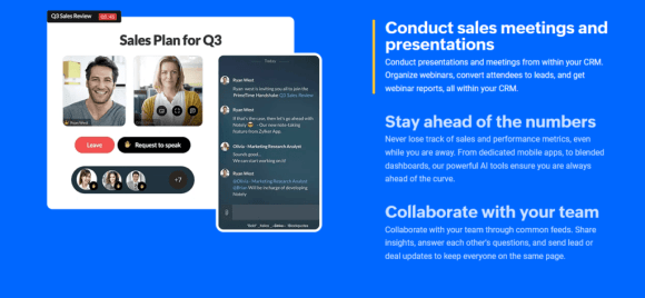 zoho crm collaboration Twin Front