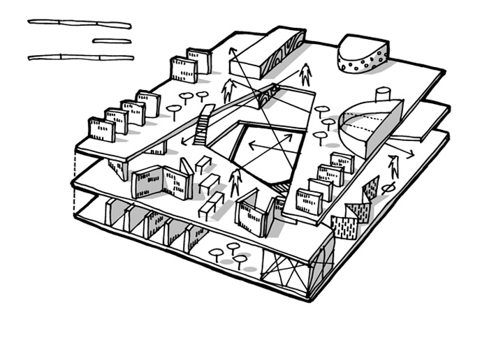 MEDIASPACE // CEBRA architecture