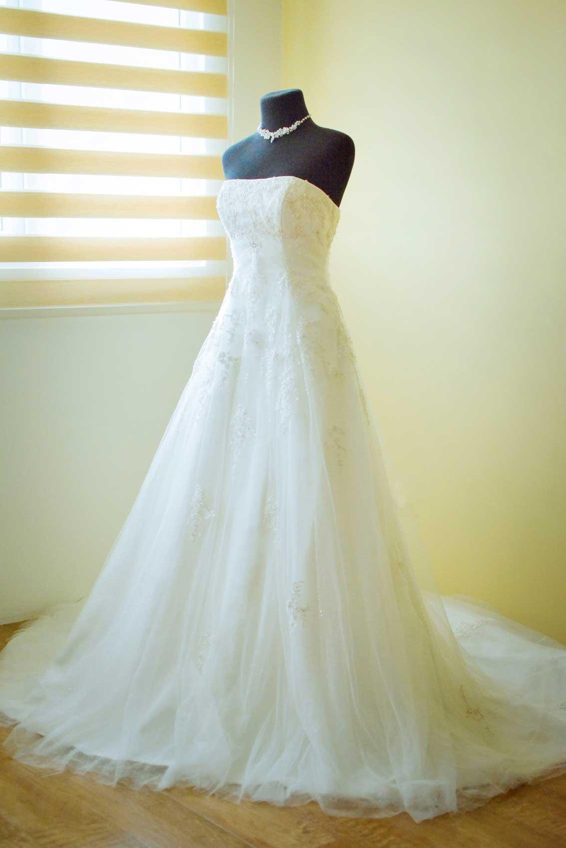 Aラインドレス