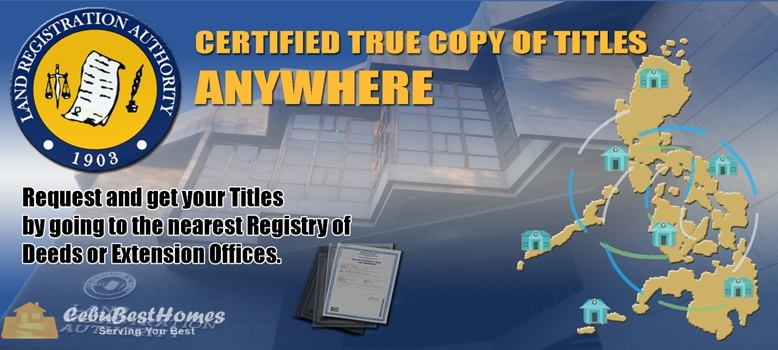 What are the Steps and Costs in Securing Certified True Copy of Title?