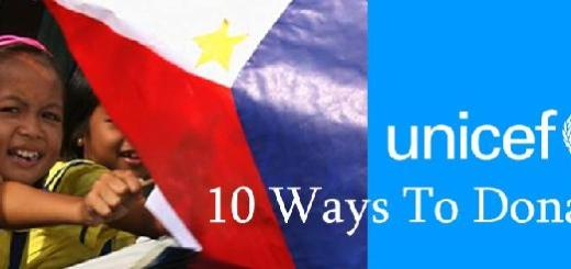 10 Ways To Donate To Unicef Philippines | Cebu Finest