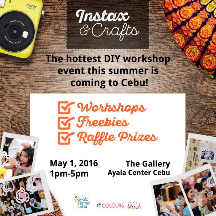 Fujifilm Instax and Crafts DIY Workshop Event in Cebu   Cebu Finest