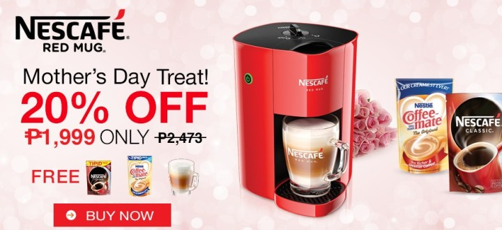 Nescafe Red Mug Coffee Machine User Manual - mugs design
