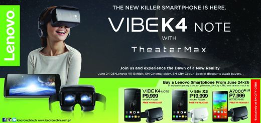 Experience Virtual Reality with Lenovo Smartphones at SM City Cebu | Cebu Finest