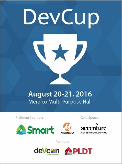 WebGeek DevCup Hackathon 2016 | Cebu Finest